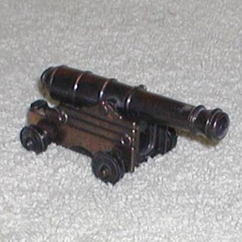 Bronze Naval Cannon Pencil Sharpener - Office