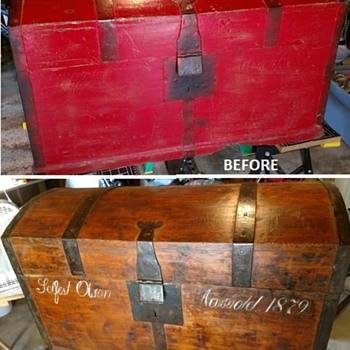 My first restoration - Furniture