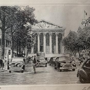 Della etching?? - Fine Art