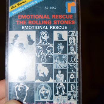 Rollin Stones C-cassette - Music Memorabilia