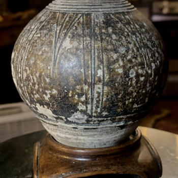 Jarlet - 15th century from Cambodia - Khmer - Pottery