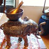 Silver Elephant incense burner or Goose cooker!  From maybe India