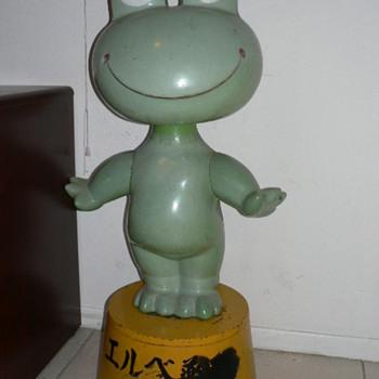 Japanese Frog Bobble Head - Animals
