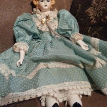 Does anyone know anything about this China Doll? - Dolls