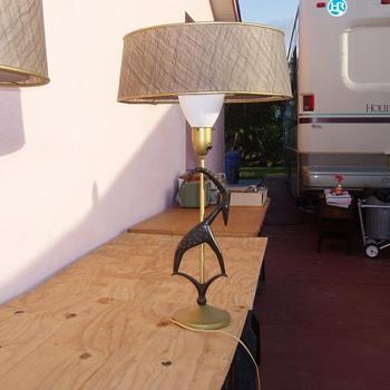 estate sale find..... - Lamps