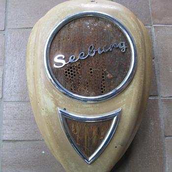 Seeburg Teardrop Wall Speaker