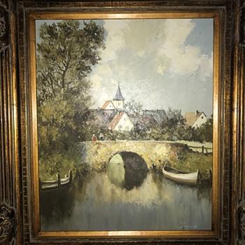 Painting Identification Needed - Fine Art
