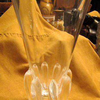 Steuben Lotus Vase (Designer George Thompson) - Art Glass