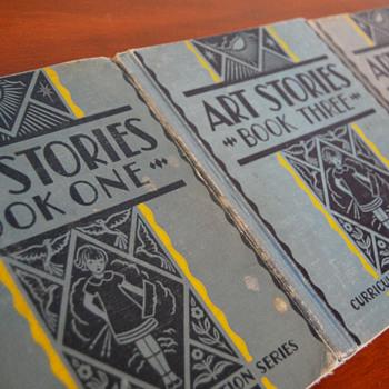 Art Stories, vintage school art books