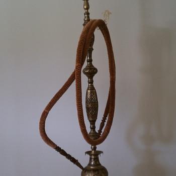 antique hookah
