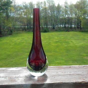 Ruby Bud Vase