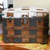 Barrel Stave Trunk circa 1885?