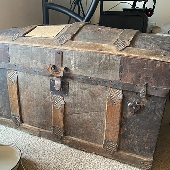 Inherited Steamer Trunk - Furniture