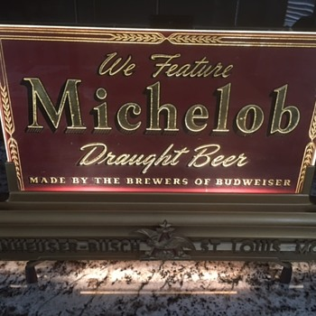 Antique Michelob Bar Light - really old