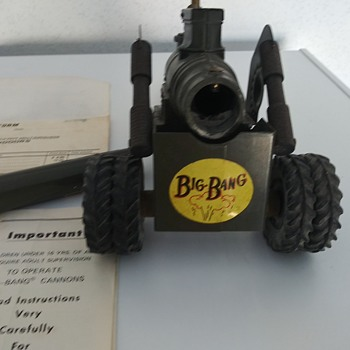 Big Bang Cannon Toy - Toys