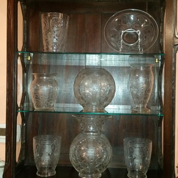 some new pieces, some old - Glassware