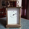 Tiffany and Company Carriage Clock / Hechinger Quartz Movement Made in W. Germany/Unknown Age