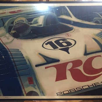 Race car poster - Posters and Prints