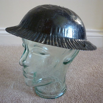 Childs British steel helmet
