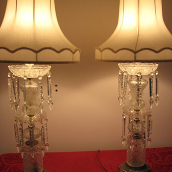 CRYSTAL PRISM LAMPS - Lamps