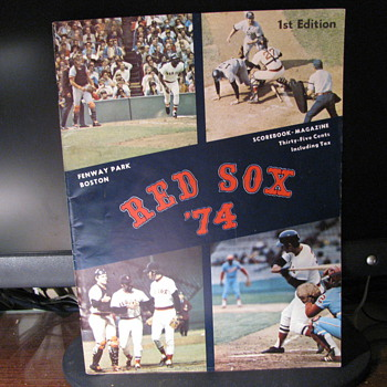 First Edition of Red Sox 1974