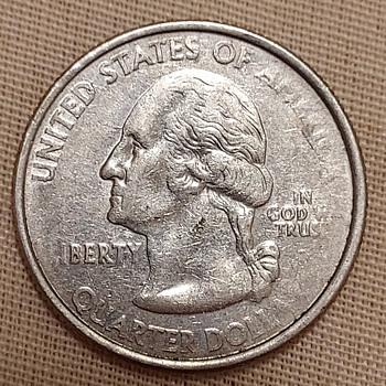 Error 2007 Montana quarter - US Coins