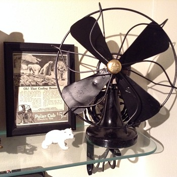 """Polar Cub"" electric fan 1919 - Tools and Hardware"