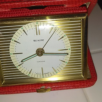 German made travel alarm clock - Clocks