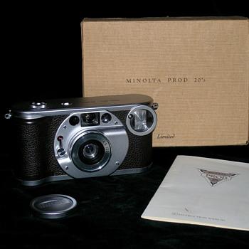 Minolta Prod 20's, 1990 Limited edition! - Cameras