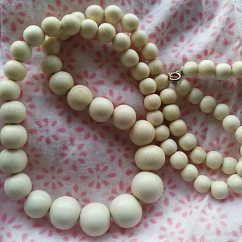 I thought I was buying a elegant but simple costume jewelry necklace at the second hand shop.......  - Fine Jewelry