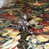 Bronze or Brass Powder Angel Figurine