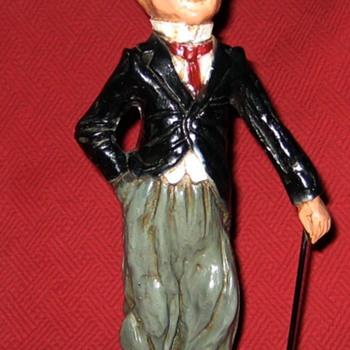 1972 Charlie Chaplin Figure - Figurines