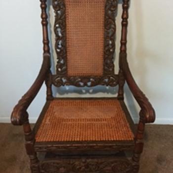 Antique Belgium Chair