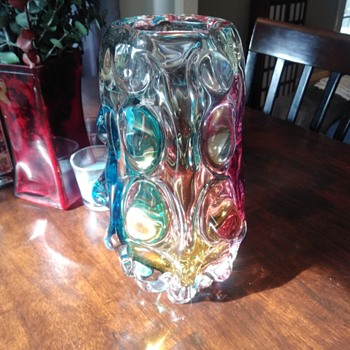 Unknown maker...in the family since the 60s. - Art Glass