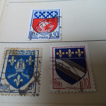 French Vintage Stamps