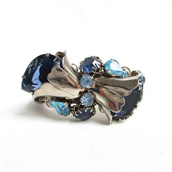 Vintage Corsage Bracelet - Costume Jewelry