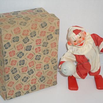 Odd Wind-up Mechanical Clown