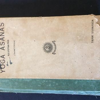 RARE BOOK. YOGA ASANAS. BY SWAMI SIVANANDA  SECOND EDITION 1935