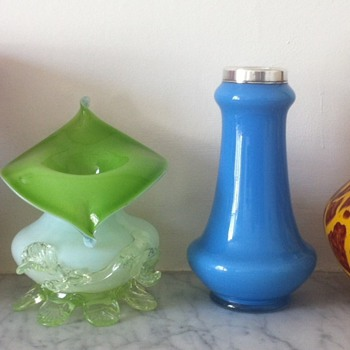 Some Kralik and some unknown Deco vases - Art Glass