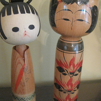 More and More Kokeshi Dolls! - Dolls