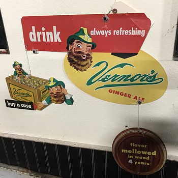 Vernor's ginger ale  - Advertising