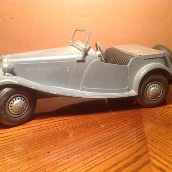 DOEPKE MODEL MG TD ROADSTER Die Cast *ORIG GRAY METAL - Model Cars
