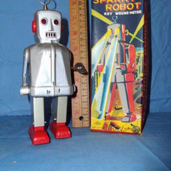 YOSHIYA Sparky Robot w/box - Toys
