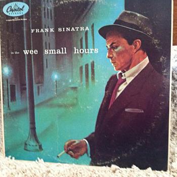 Frank Sinatra Album - Dad's favorite - Music Memorabilia