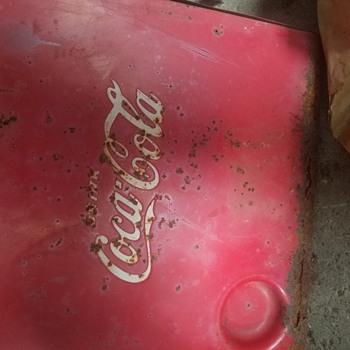 Great grandpa's cooler  - Coca-Cola