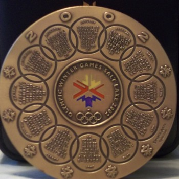 2002 Winter Olympics Salt Lake City Medallion - Sporting Goods