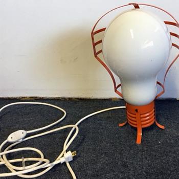 Mid Century Modern Light Bulb Lamp  - Lamps