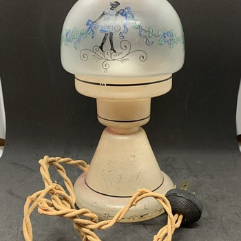 Art Deco lamp from 1920 may be Czech - Art Deco