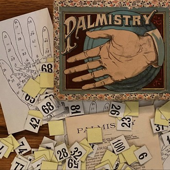 Palmistry Game - Cards