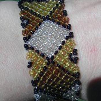 African Maasai tribe bracelet - Costume Jewelry
